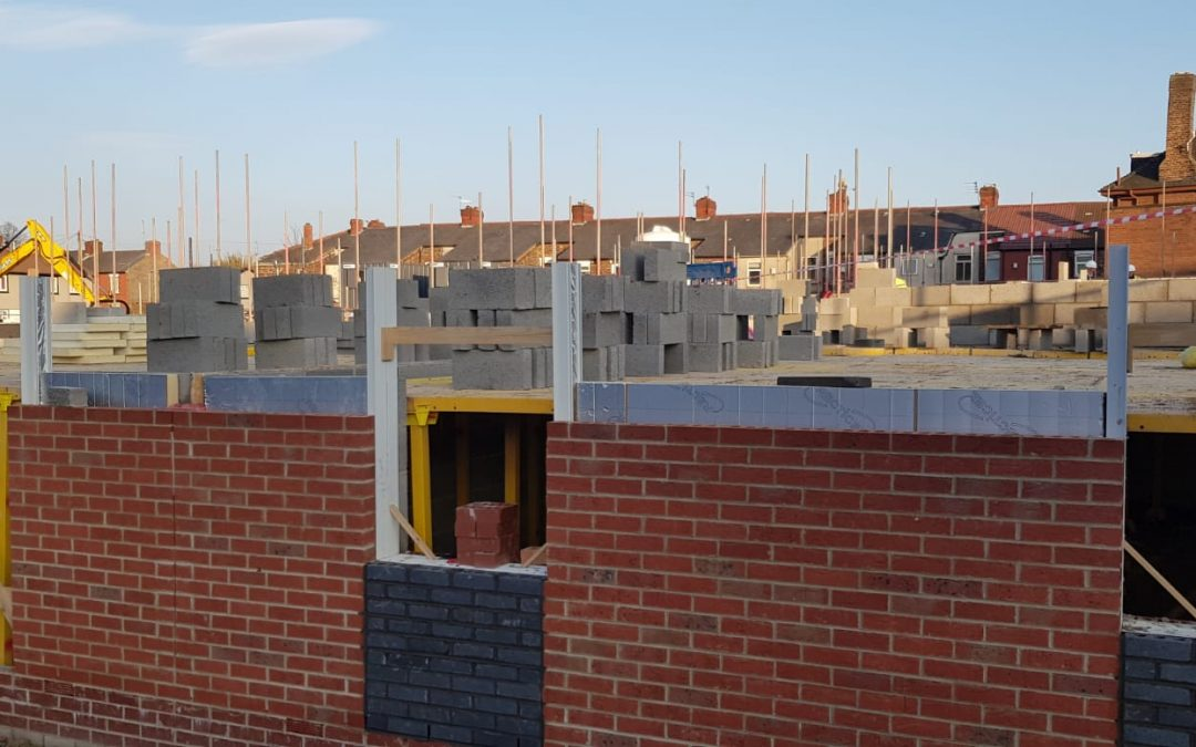 Construction work on Melody Gardens makes significant progress