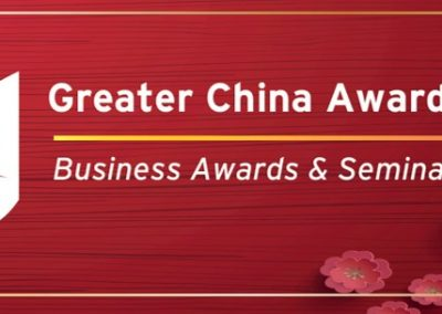 Investar Property Group finalists in the Greater China Business Awards 2019