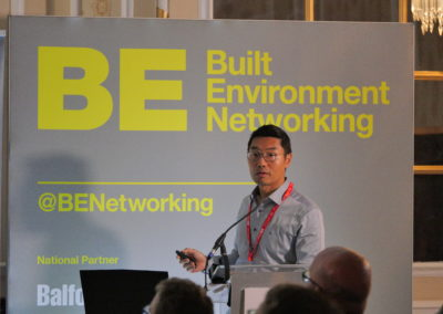Michael Dong speaks at BEN Networking North West
